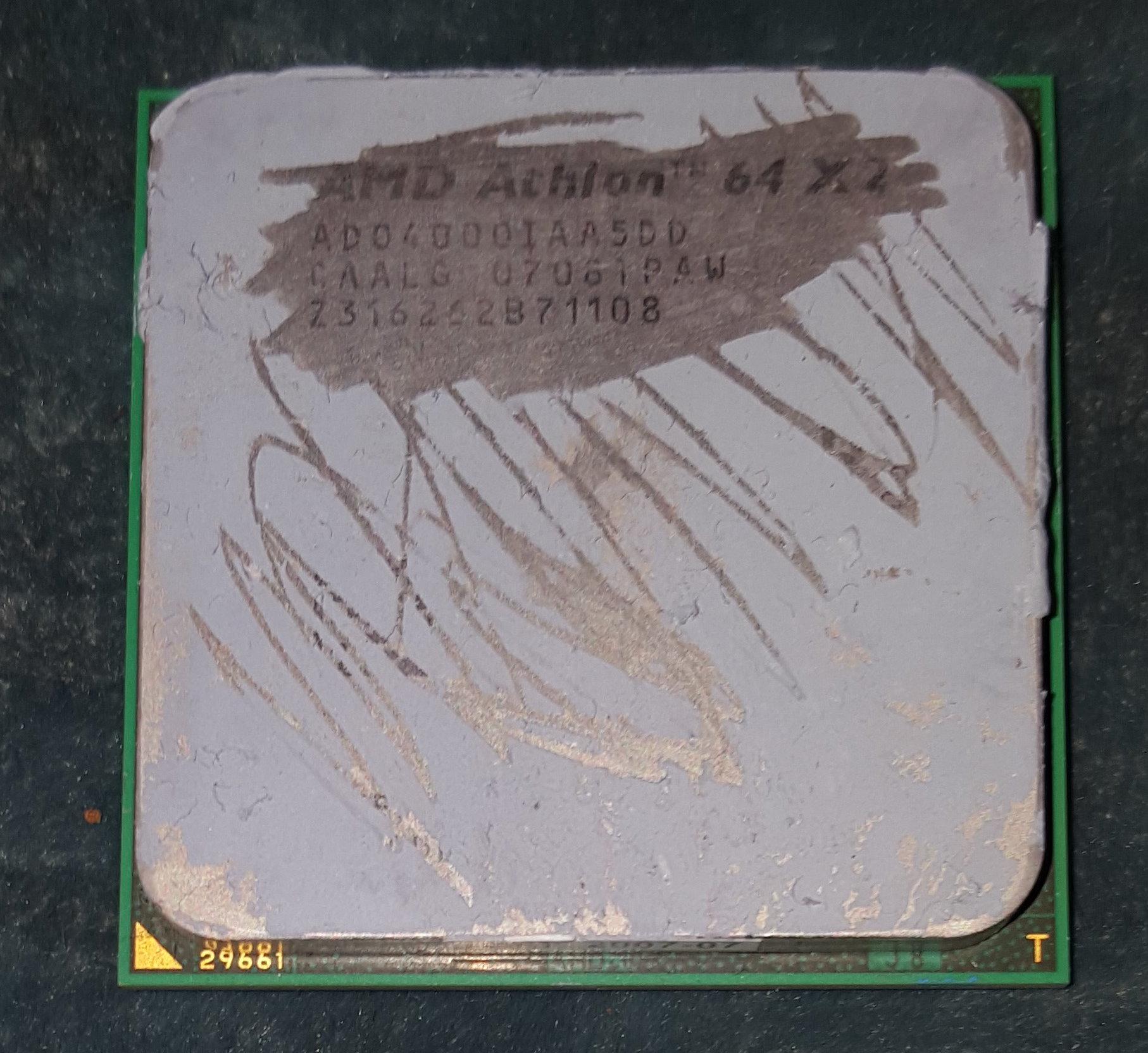 AMD AD04000IAA5DD Athlon 64 X2 4000+ 2.1GHz Socket AM2 Dual-Core Processor – Occasion
